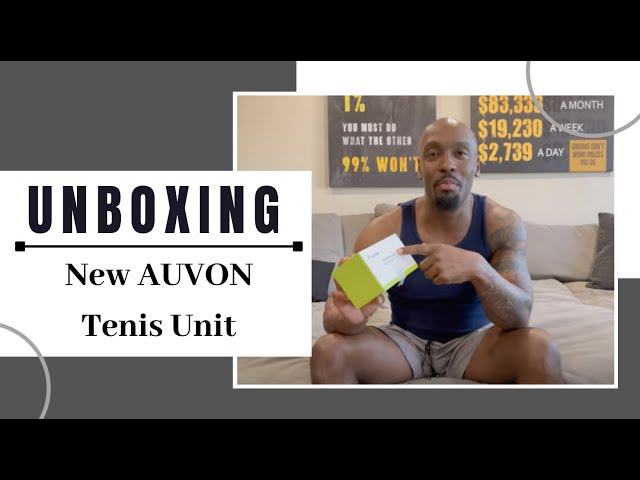 The Unboxing of My New AUVON Tens Unit!