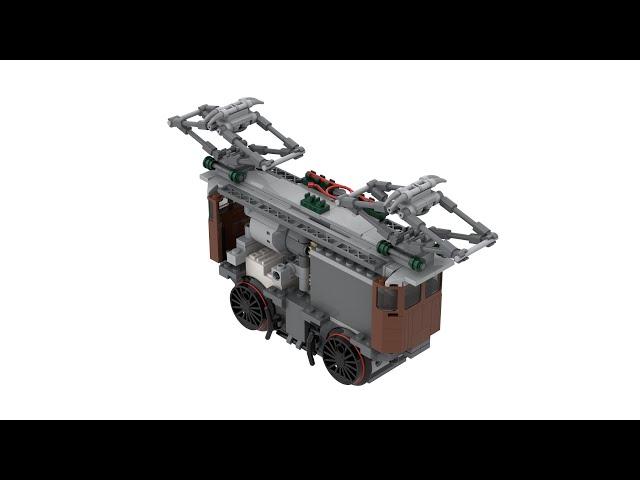 LEGO® 10277 Crocodile Locomotive Power Functions & SBrick or SBrick Plus Upgrade with Instructions