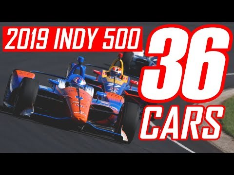 36 Cars on the Indy 500 Entry List