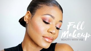 Download Video Soft Cranberry Fall Makeup Look | Beauty With Vee ♡ MP3 3GP MP4