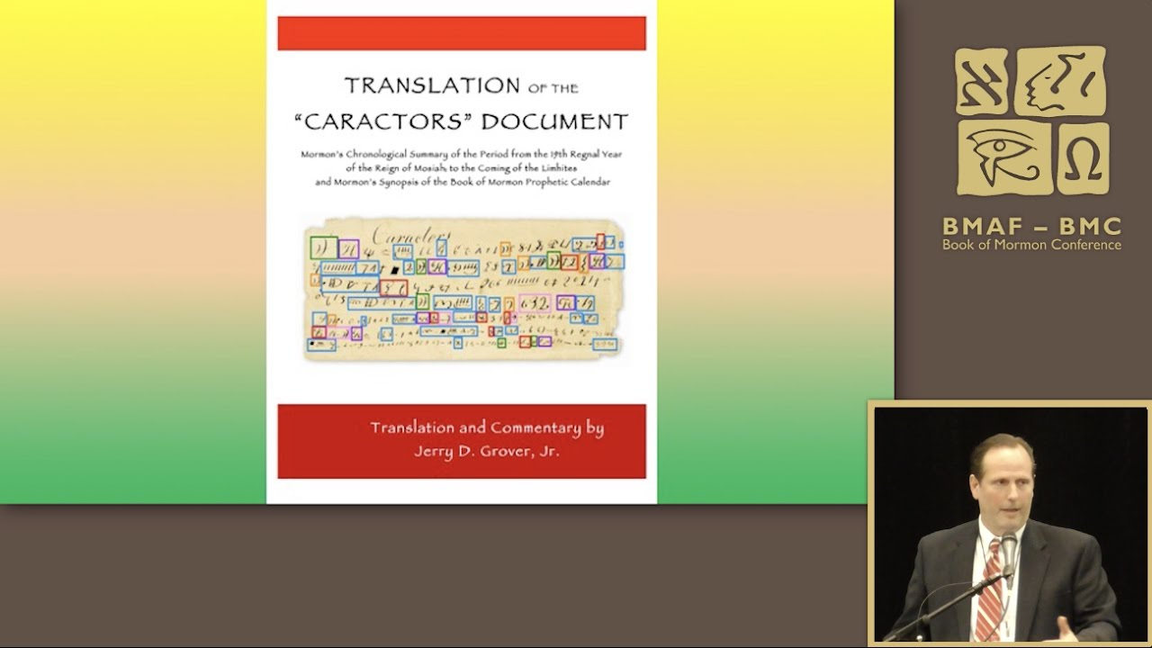 Translation of the 'Caractors' Document | Book of Mormon Scientific