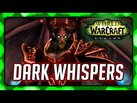 Dark Whispers - WoW Legion Pre-Launch Event - Turning into a Dread Lord in Orgrimmar