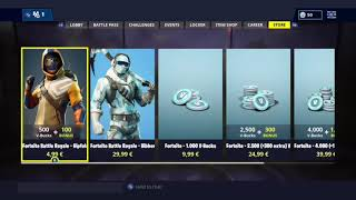 Fortnite: Battle Royale - Buying Summit Striker Skin