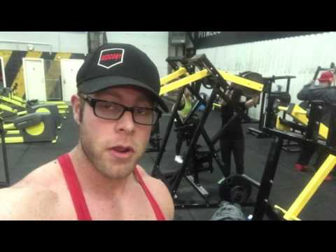 A trip to Area 51 gym Crewe