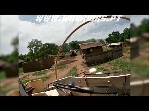 Portuguese Paratroopers in Combat in Central African Republic (May 2020)