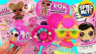 XXL LOL SURPRISE unboxing deutsch | Under Wraps Lil Sister Glam Water Surprise Interactive Live Pets