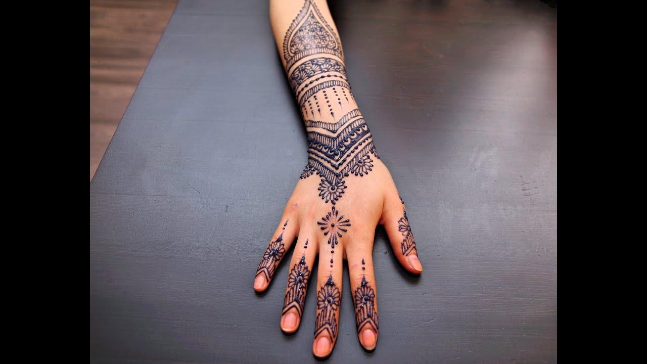 My Henna Jagua Tattoo 2 Youtube