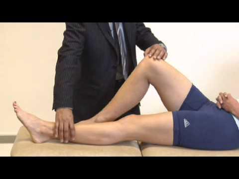Knee examination run through