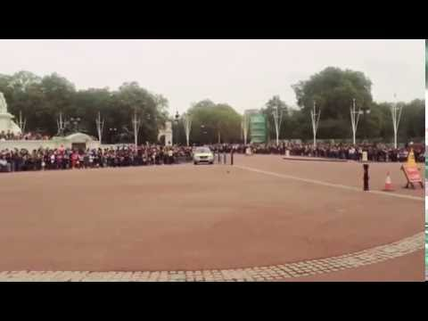 Change of guards Buckingham Palace London Part 2