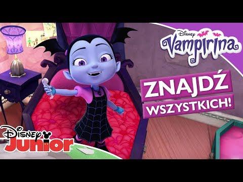 👻 Zabawa w Horrorwanego!   Vampirina   Disney Junior Polska