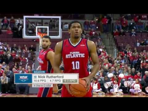 Nick Rutherford FAU Sophomore Season Mixtape