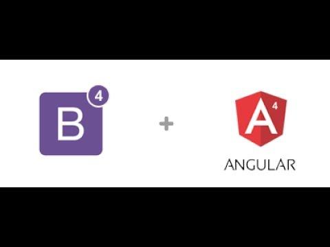 Angular 4 : Adding Bootstrap and Files Locally