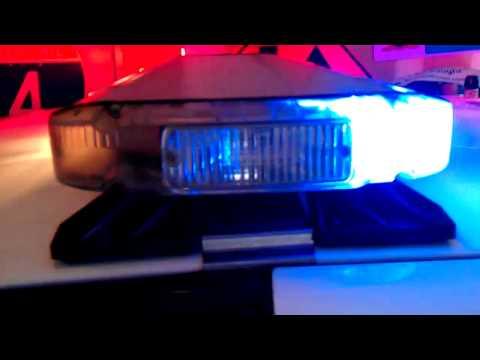 Gotham City Police Car Lights (Whelen Liberty)