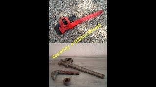 Restoring a Rusted Stillson Pipe Wrench
