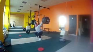"Тяжелая атлетика ""Рывок с лямками 115 кг"""