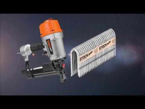Stock Ade St 400 9ga Fencing Stapler Demo Youtube