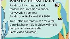 Tanssihaaste 2020 Keski-Suomen Parkinson-yhdistys