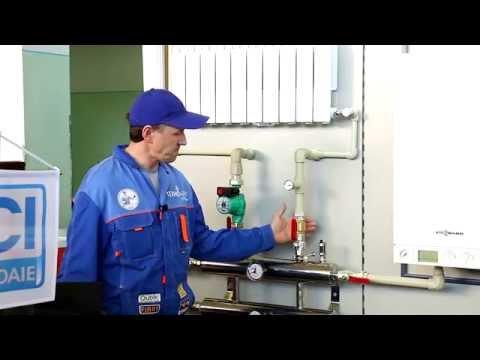 Пример реализации комбинированной системы отопления. Выставка BishkekBuild. Стенд Thermoflex