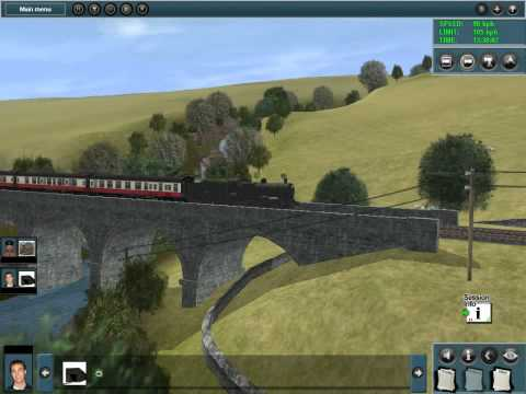 Steaming on Trainz |