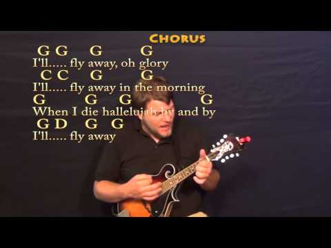 I'll Fly Away (Gospel) Mandolin Cover Lesson with Chords/Lyrics