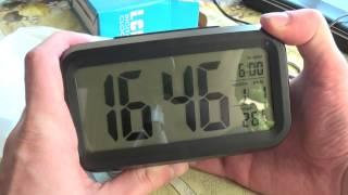 большие электронные часы с подсветкой из Китая