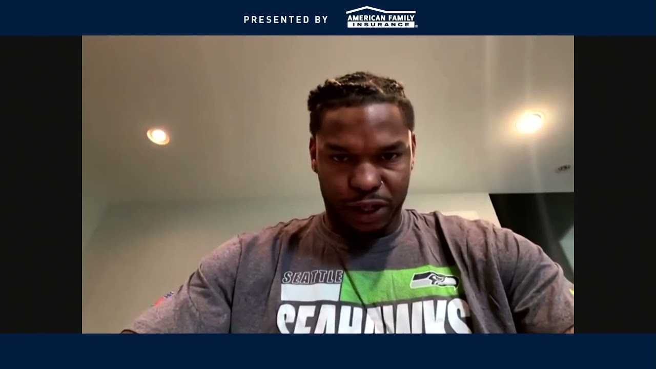 Gerald Everett on Roll with Seahawks 2021-04-07