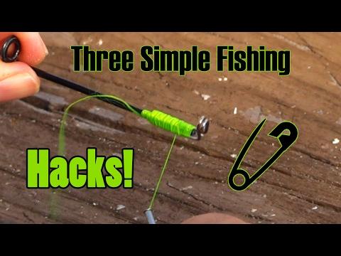 Top Three Fishing Hacks! - Simple & Sweet