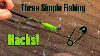 Top Three Fishing Hacks! - Simple & Sweet