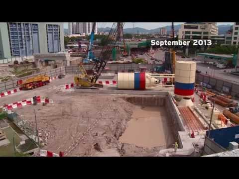 The Klang Valley MRT Underground Works Progress Video