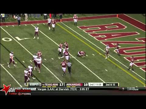 Johnny Manziel vs Arkansas 2013