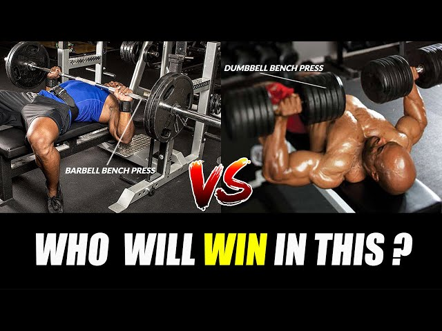 BARBELL BENCH PRESS vs DB BENCH PRESS Which ONE is Better for you? |किसकी होगी जीत ?|
