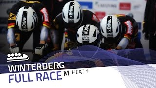Winterberg | BMW IBSF World Cup 2016/2017 - 4-Man Bobsleigh Heat 1 | IBSF Official