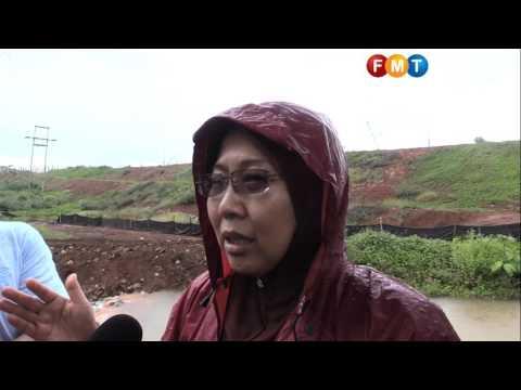Kuantan risks water supply contaminated by mercury