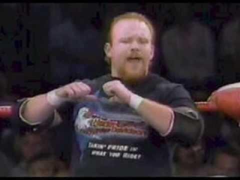 BULL PAIN Rick Gantner Badass Biker Thug Classic Pro Wrestling Heel -  YouTube