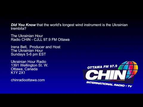 Did You Know that the world's longest wind instrument is the Ukrainian trembita?