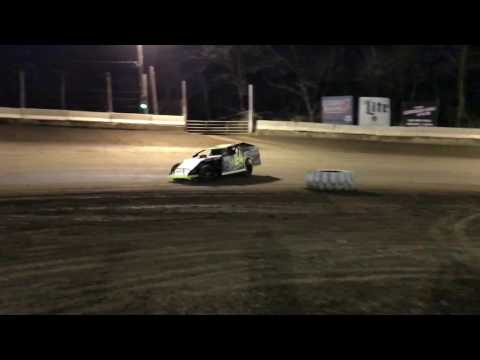 Dirt car slow motion compilation from Highland Speedway