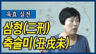 삼형 축술미 : 육효 실전 - 안덕심 선생님 [대통인.com]