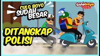 Download lagu CUL0 BOYO SUDAH BESAR DITANGKAP POLISI | CULOBOYO LUCU