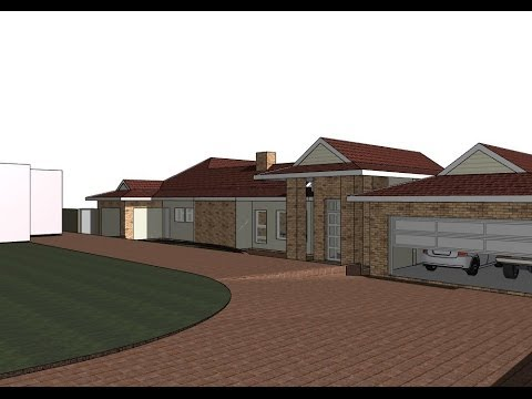 House plan designs 3d animation 01 youtube malvernweather Image collections