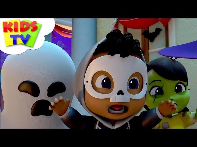 Hello Its Halloween | Boom Buddies | Scary Halloween Songs & Nursery Rhymes For Kids