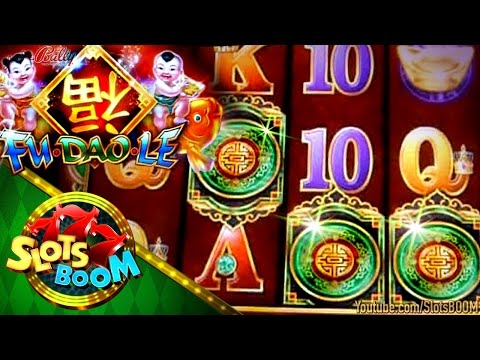 Fu Dao Le Bonus !!!  New Bally Gaming Video Slot & More...