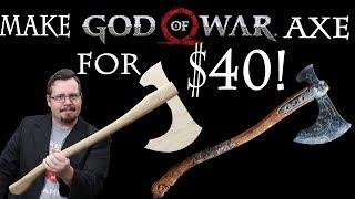 Het maken van Kratos' God of War axe voor $40