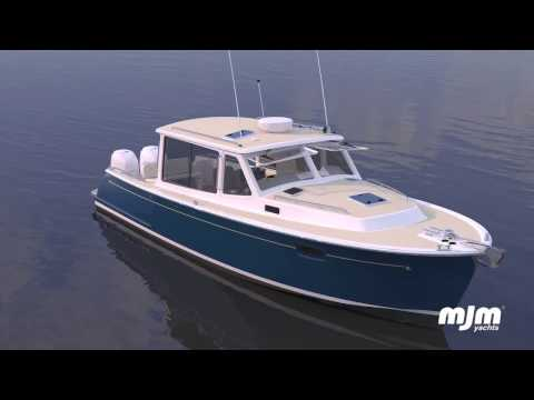 New 35z from MJM Yachts