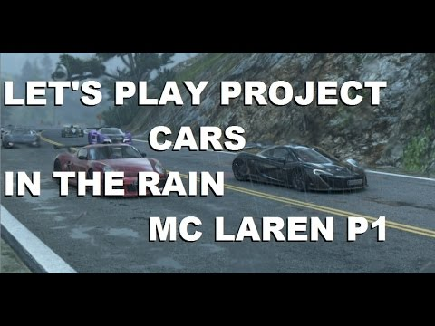 Project cars mclaren p1 in rain 1080p at 60fps 3 gpus - Project cars mclaren p1 ...