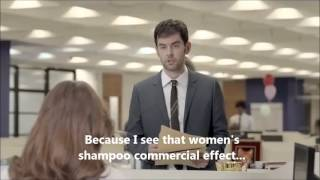 Funny Shampoo Commercial - Dove Men Shampoo