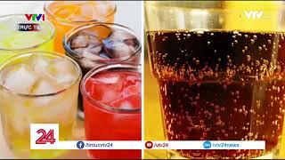 Uống rượu pha trộn với nước hoa quả, nước có gas liệu có gây hại? | VTV24
