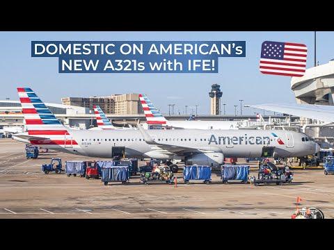 TRIPREPORT | American Airlines (ECONOMY) | Orlando - Dallas Ft. Worth | Airbus A321 Sharklets