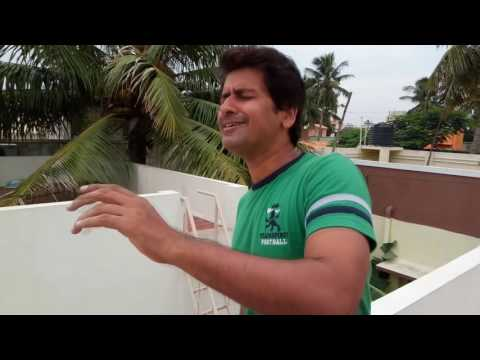 kaatrai konjam neethane cover version by Ravi Meduri