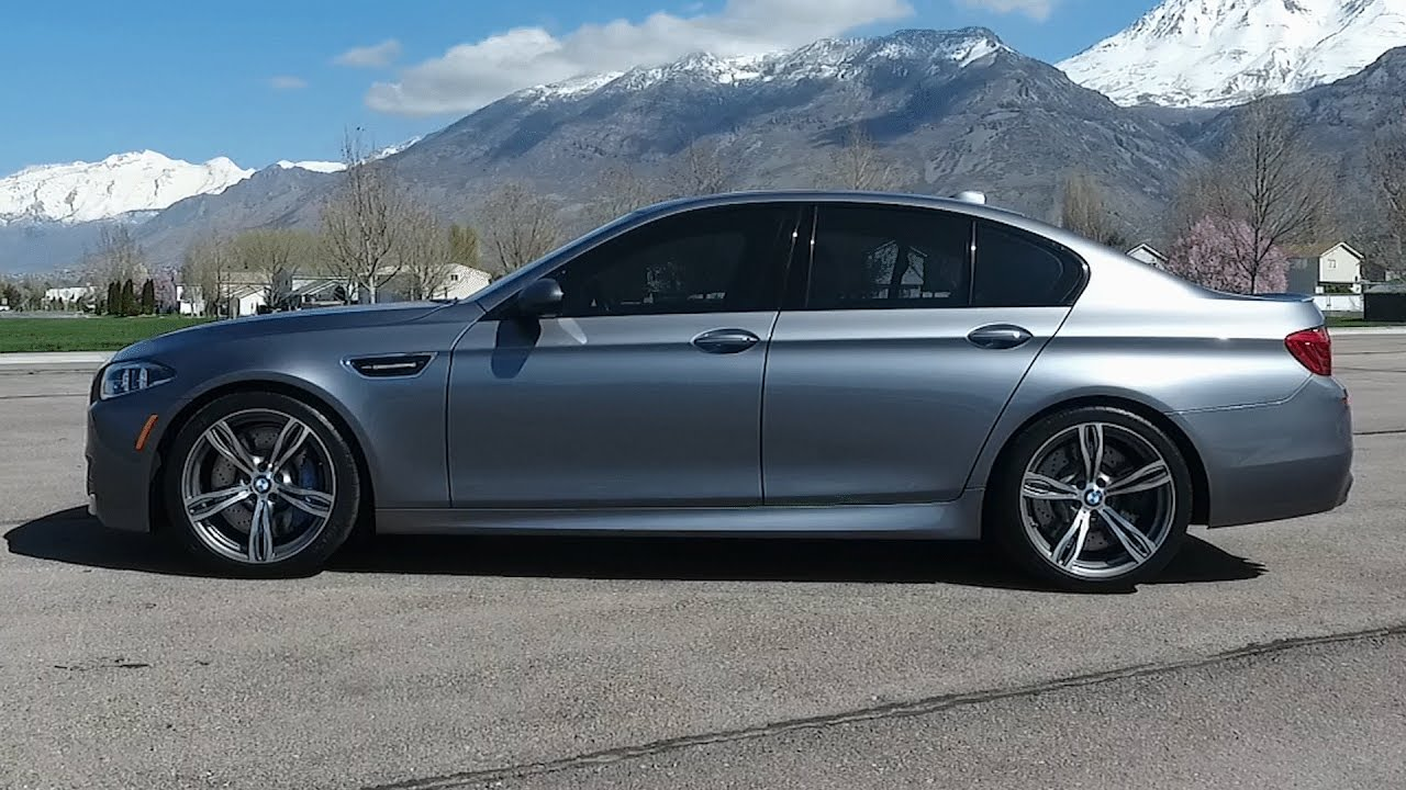 2014 BMW M5 Review The King Of The Highway - YouTube