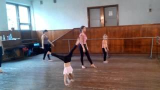 Урок акробатики! 27.11.16 Тренер: Даяна Ерёмина :)